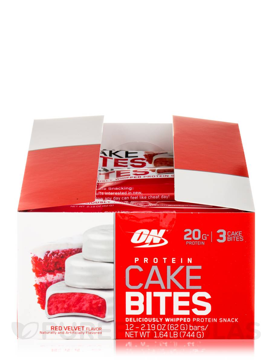 Red Velvet Cake Protein Bar