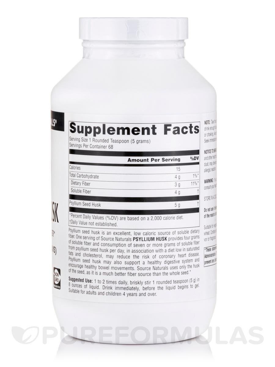 Psyllium Husk Powder 12 Oz 340 Grams