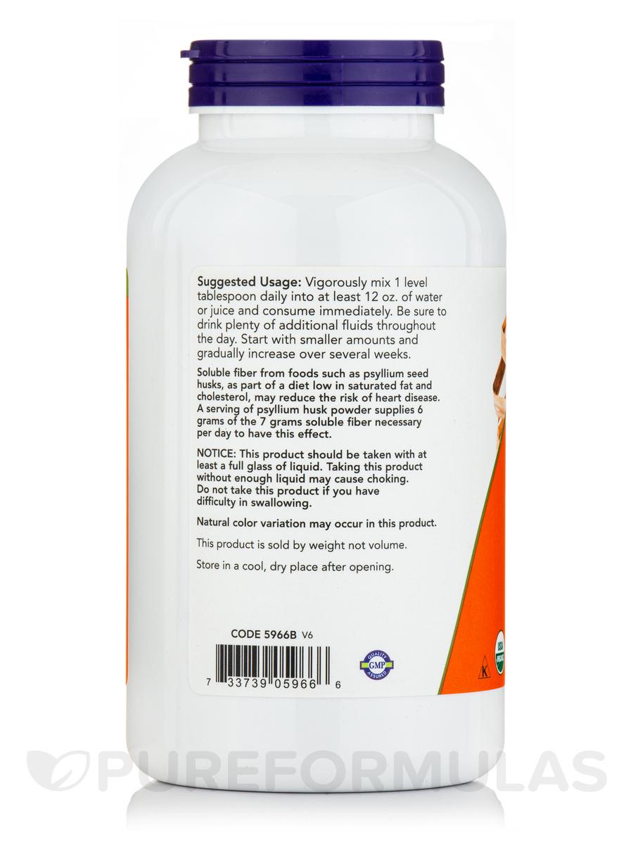 Psyllium Husk Powder (Organic) - 12 oz