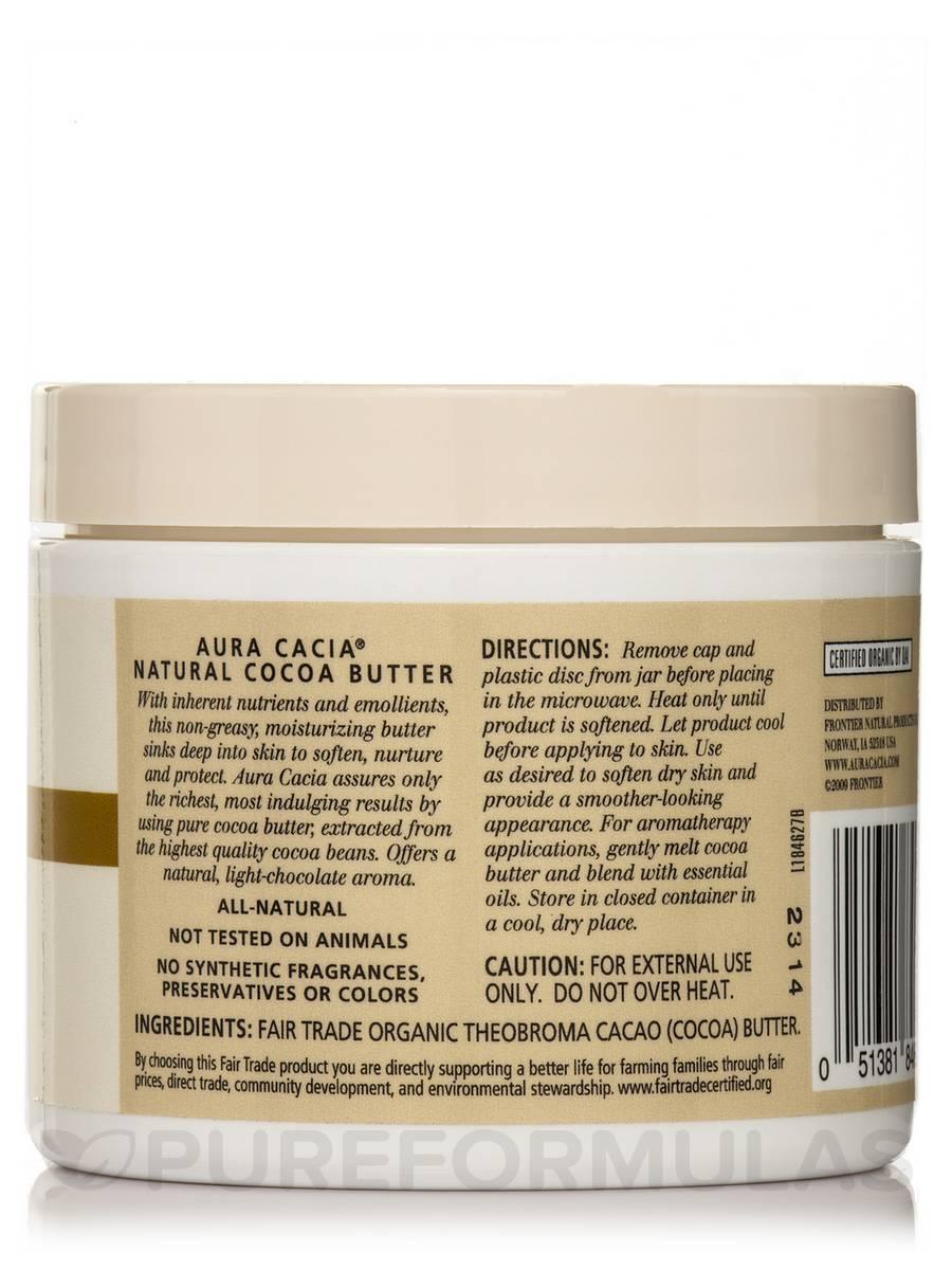 Organic Cocoa Butter - 4 oz (113 Grams)