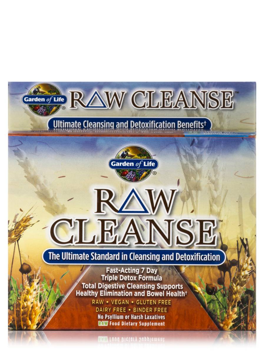 Raw cleanse 1 system for Garden of life raw cleanse reviews