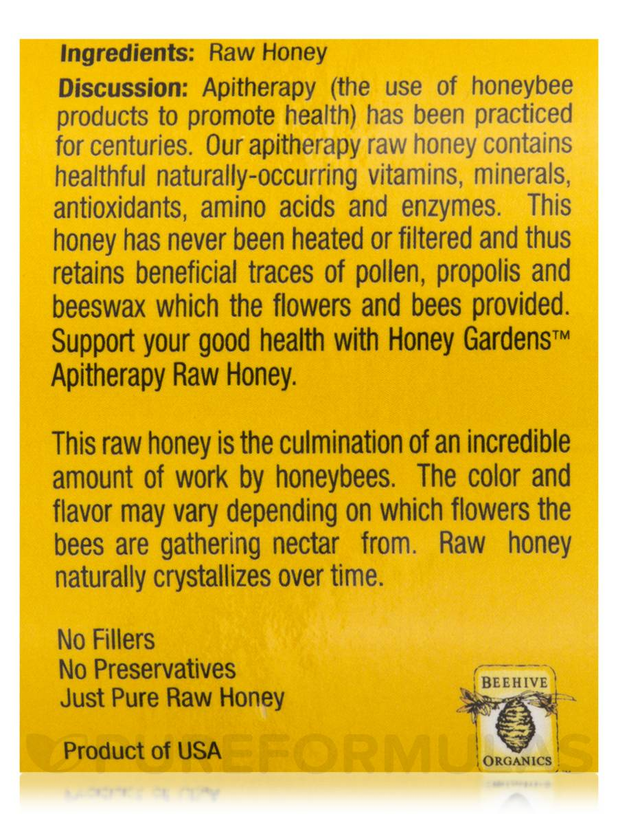 Raw Honey Northern - 16 oz (454 Grams)