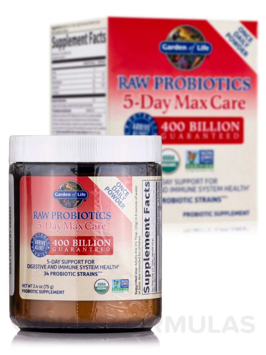 Garden Of Life Raw Probiotics Women Vegetarian Capsules Shop Amazoncom Garden Of Life Organic