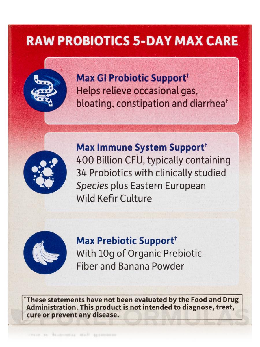 Probiotics 5 Day Max Care 24 oz 75 Grams