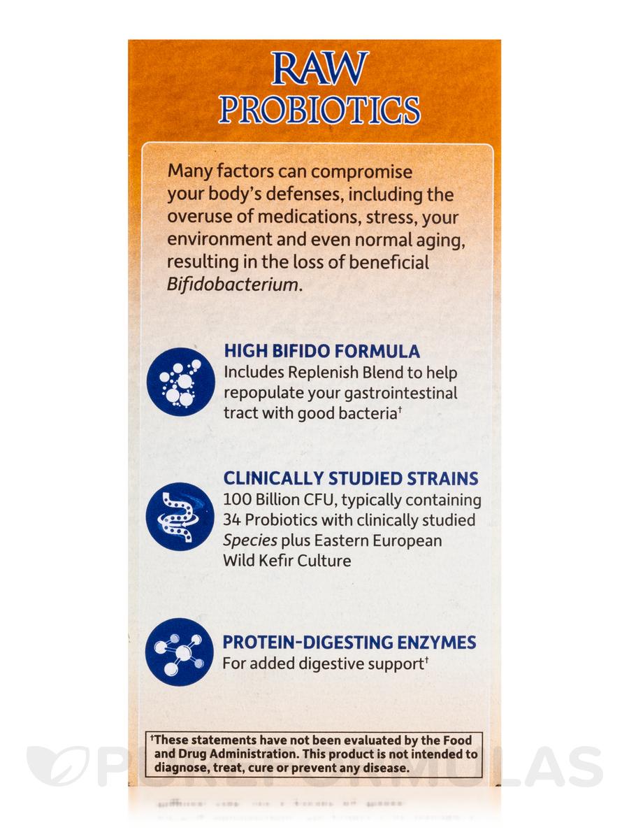 raw probiotics ultimate care 100 billion 30 vegetarian capsules