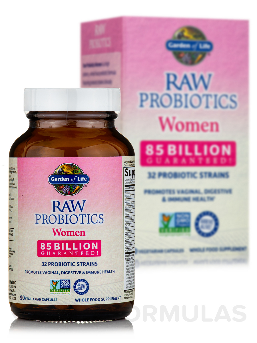 raw dr billion s formulated daily probiotics women once bacterial garden life of superheroes