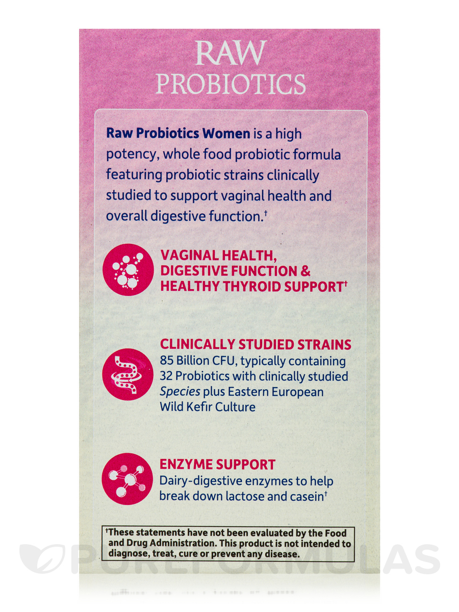 Garden Of Life Womens Probiotic Garden Of Life Raw Probiotics For Women Free Shipping Raw