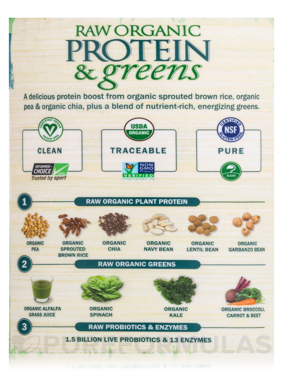 Protein and Greens Lightly Sweet 23 oz 651 Grams