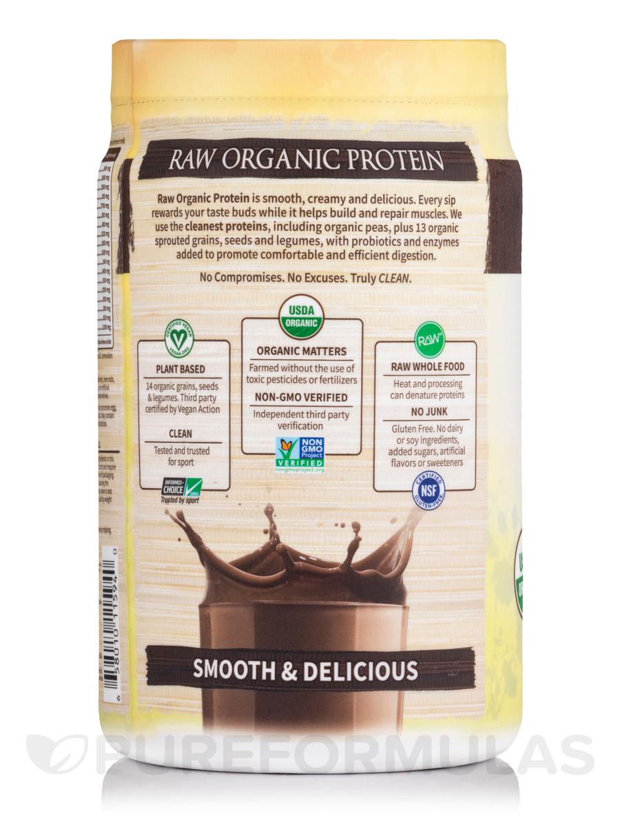 Organic Protein Powder Chocolate Flavor 234 oz 664 Grams