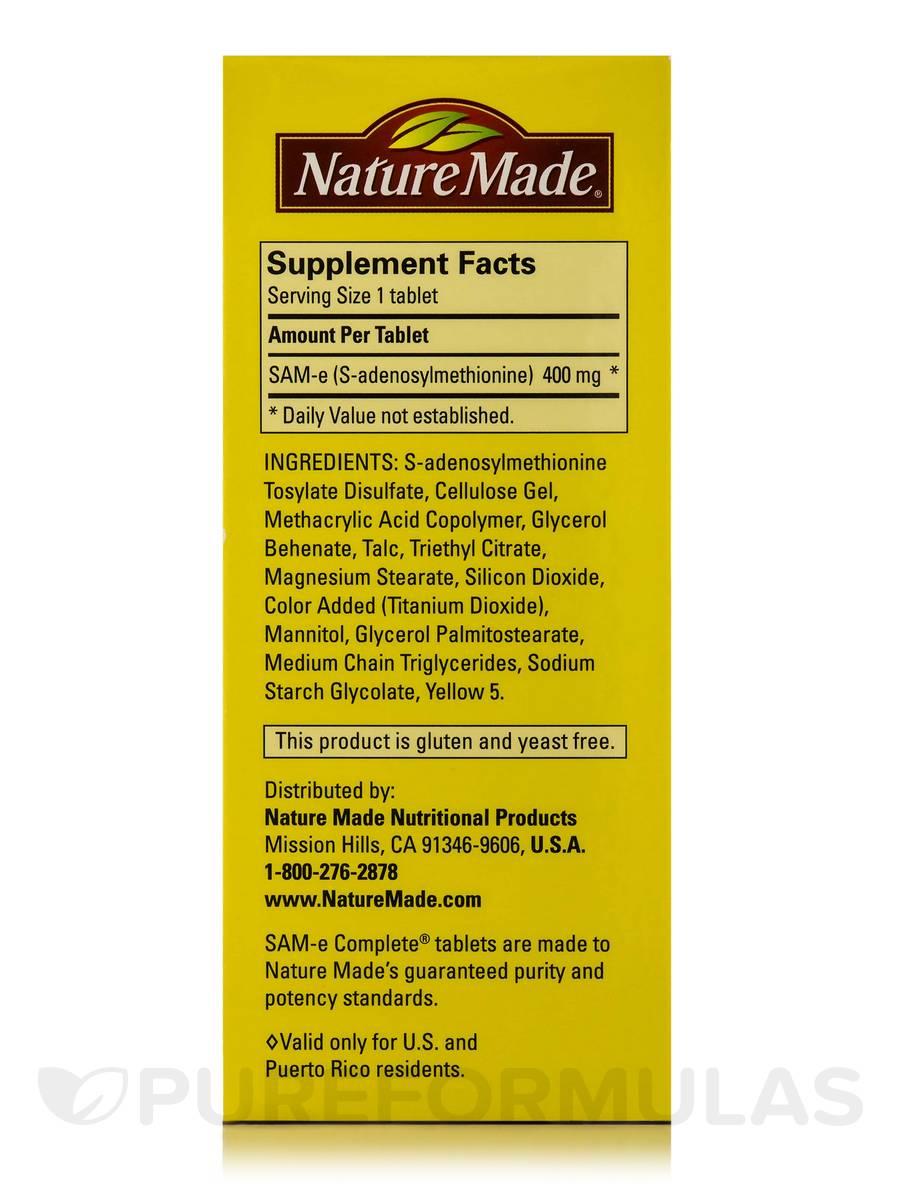Nature Made Sam E Mg Review