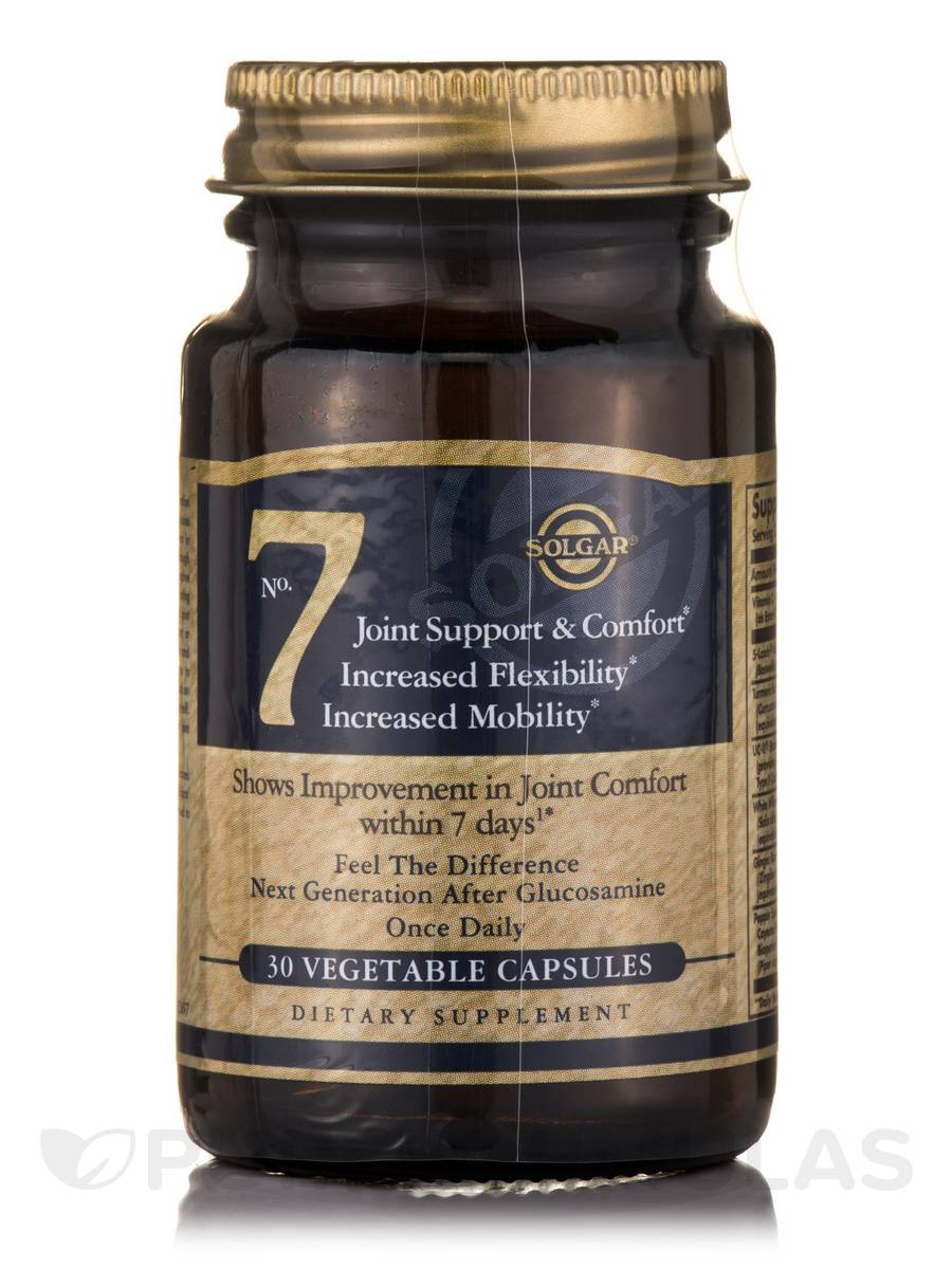 Solgar No. 7 Vegetable Capsules for Joint Support | Increases ...