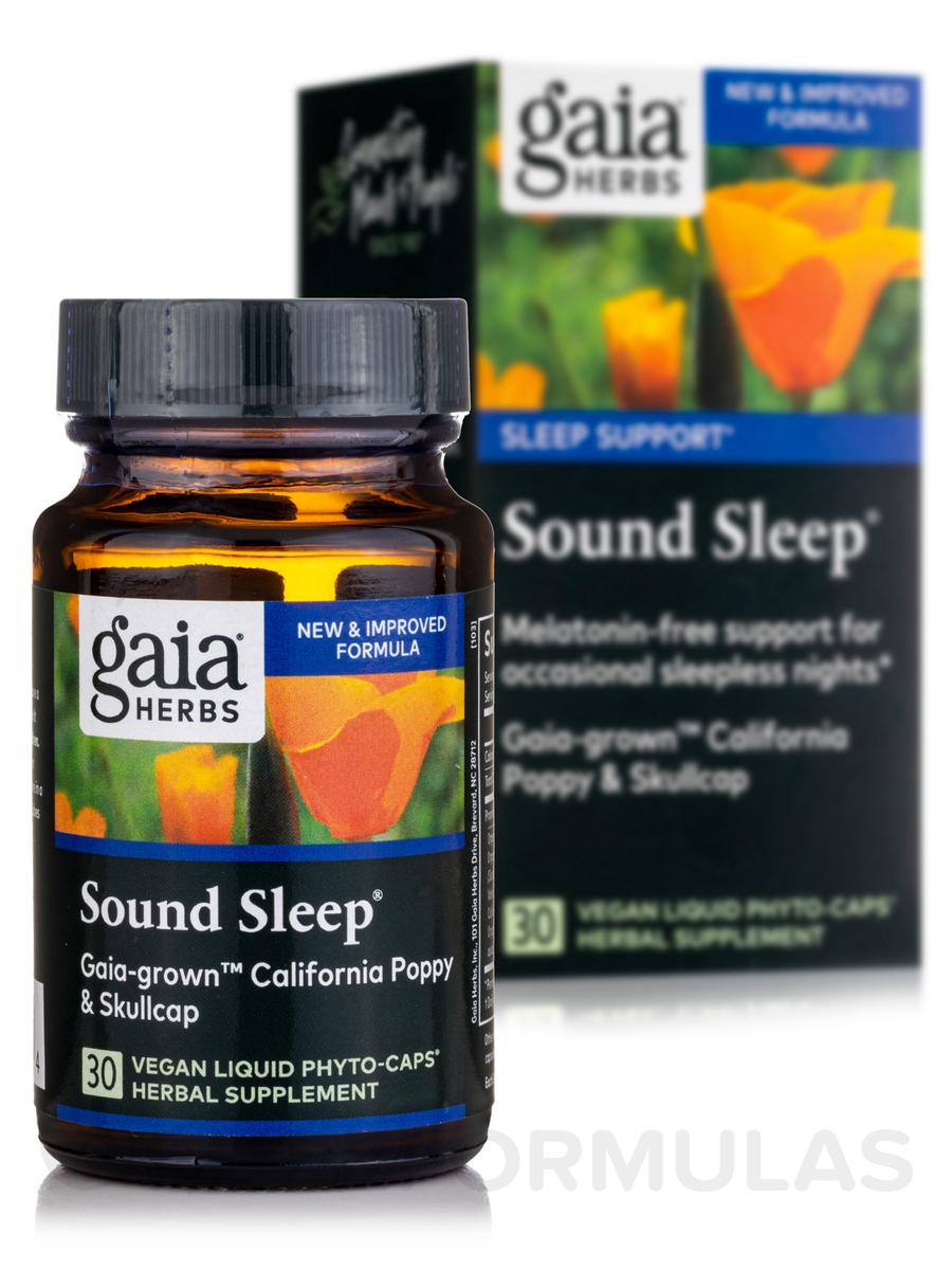 Sound Sleep - 30 Vegetarian Liquid Phyto-Caps®