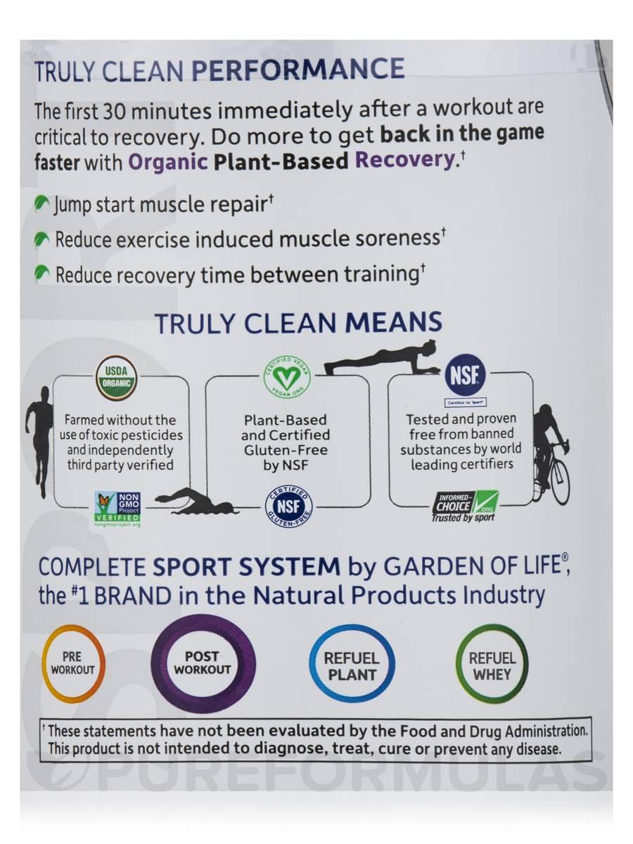 Sport Organic Plant Based Energy Focus Blackberry 15