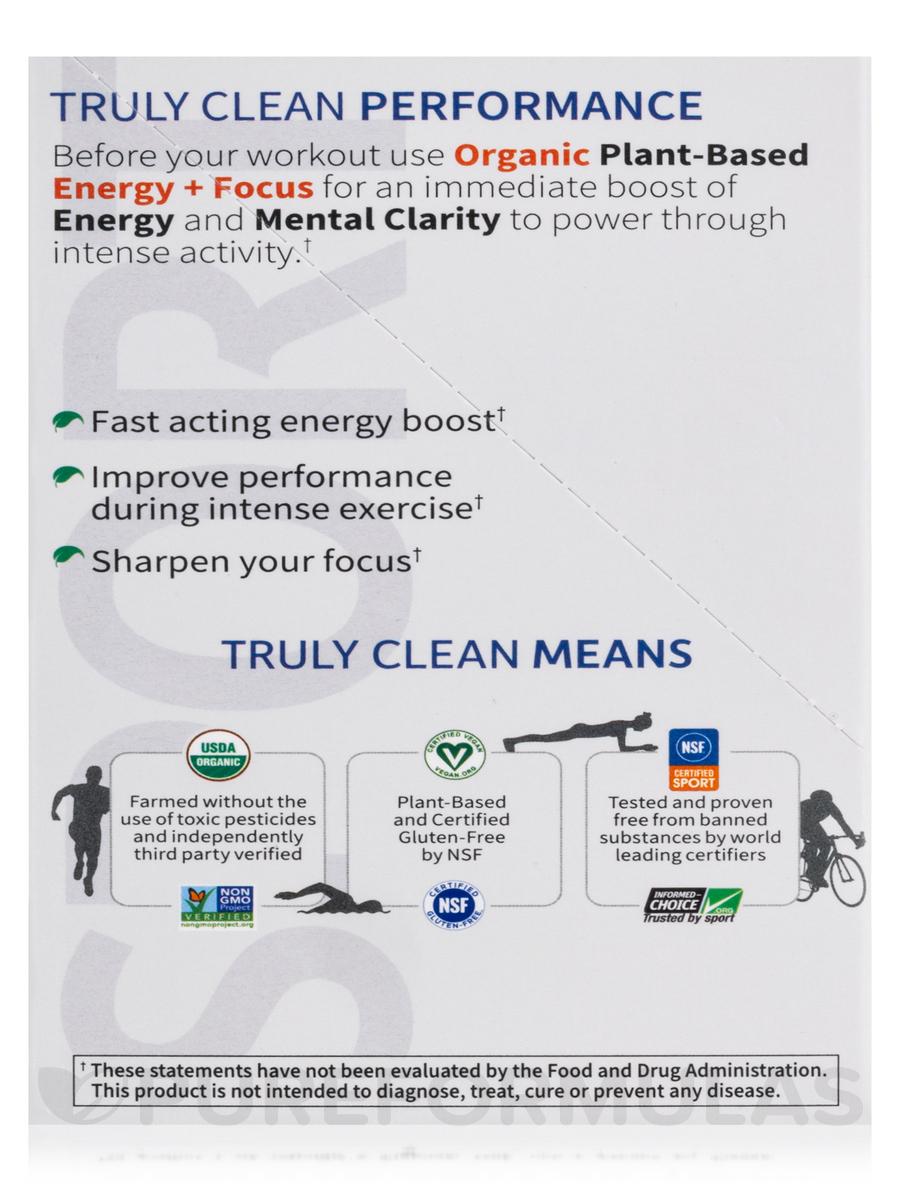 Sport Organic Plant Based Energy Focus Blackberry Box