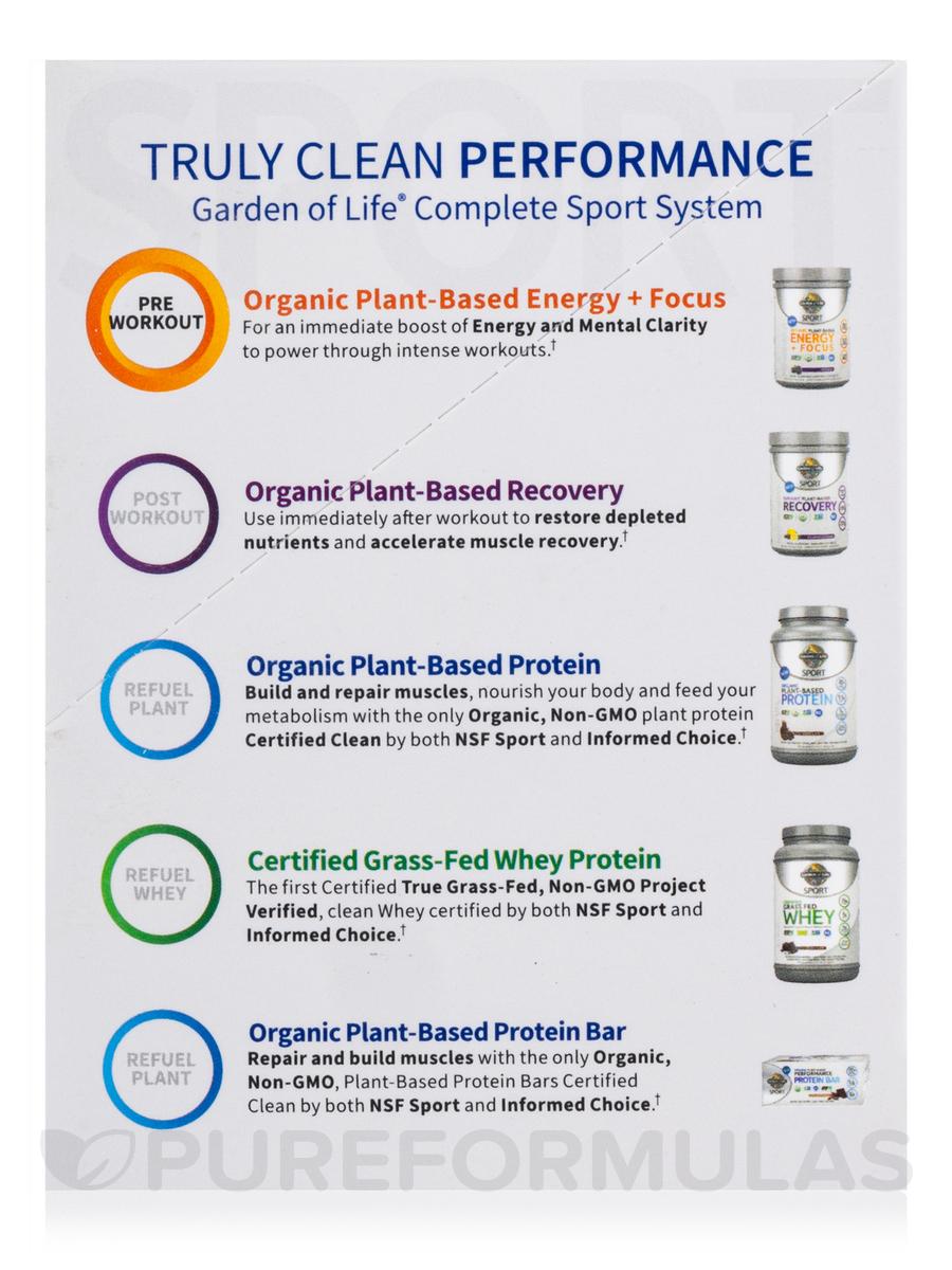 Sport Organic Plant Based Energy Focus Sugar Free