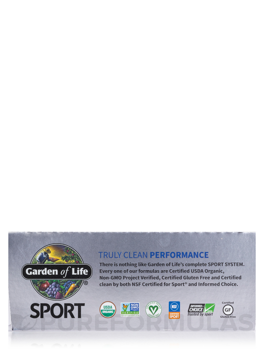 Sport Organic Plant Based Performance Protein Bar Peanut Butter Chocolate Box Of 12 Bars 2 7