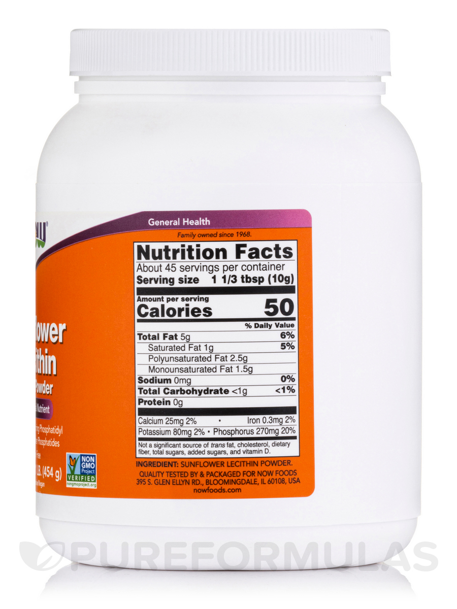 Sunflower Lecithin Granules Vs Powder
