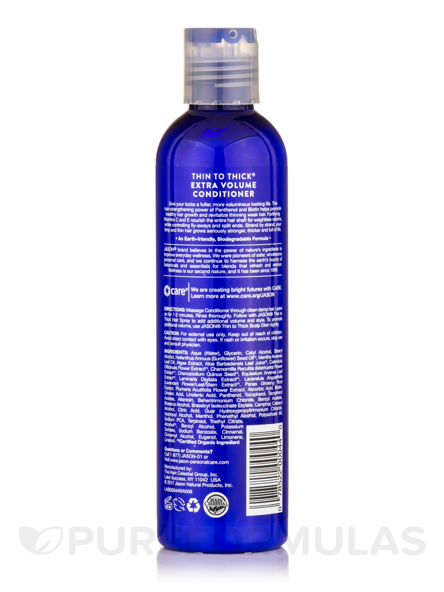 Thin to Thick Extra Volume Conditioner - 8 oz (227 Grams)