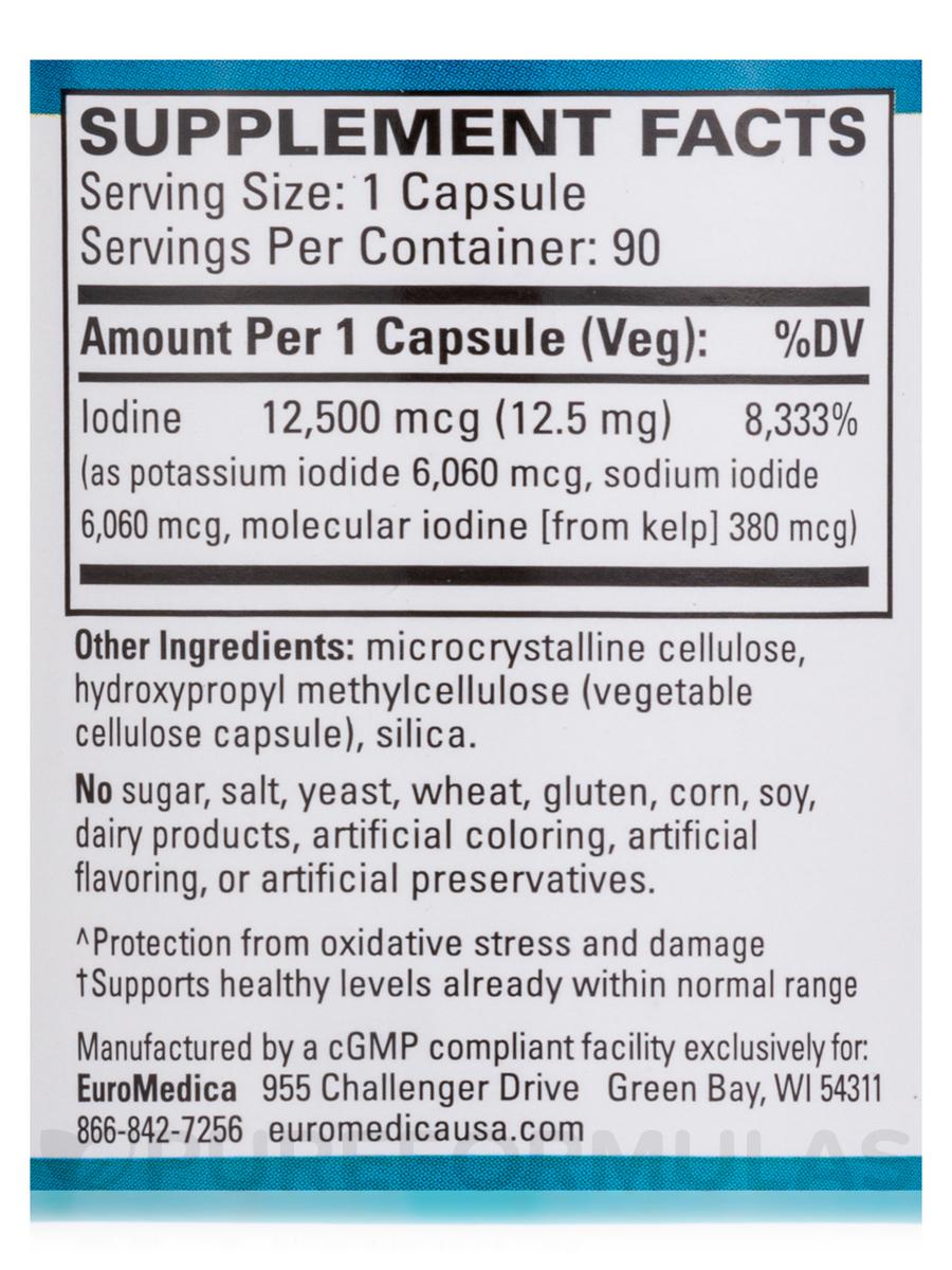 Tri Iodine 12 5 Mg 90 Capsules