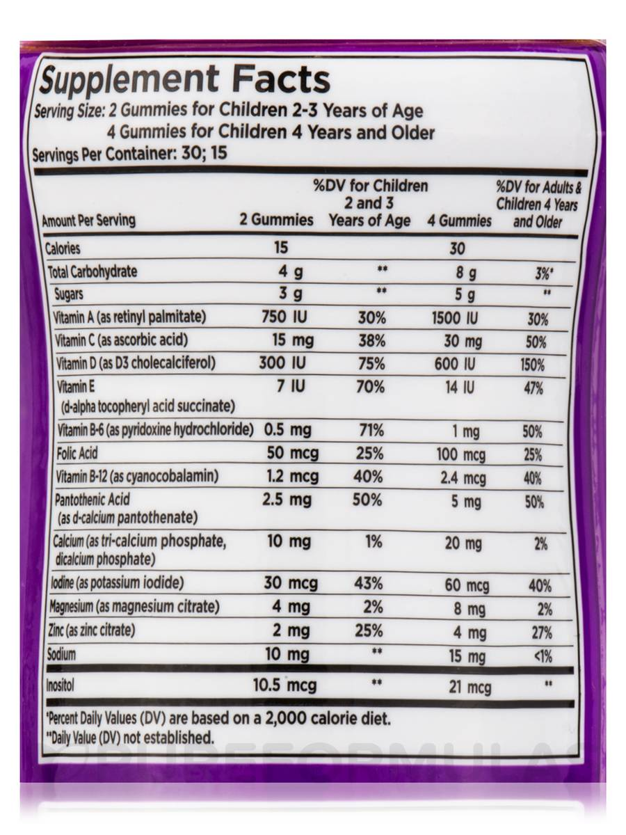 U-Cubes™ Children s Multi-Vitamin   Mineral - 60 Gummies bd05658d0060