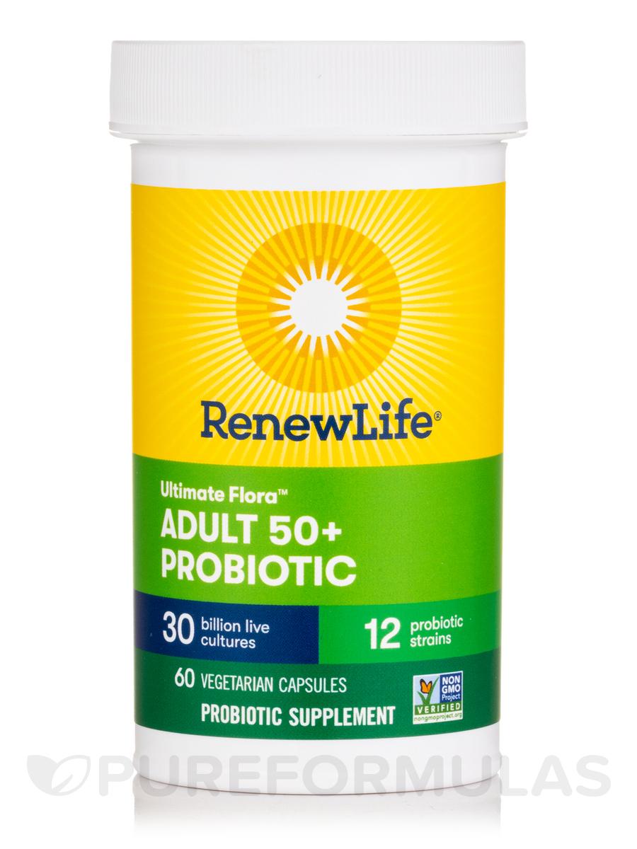 Ultimate Flora Adult 50 Probiotic 30 Billion Cfu 60