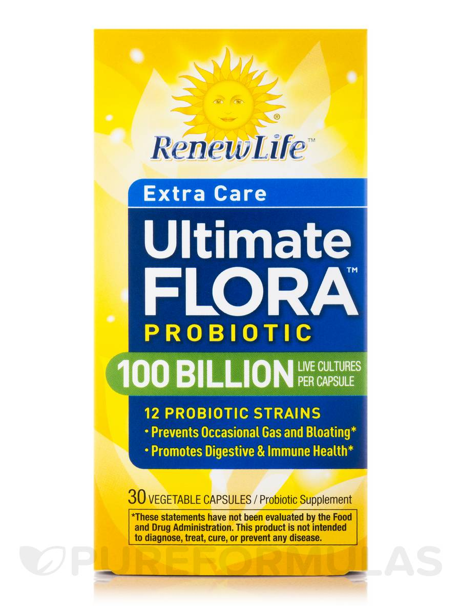 Ultimate flora ultra potent 100 billion reviews
