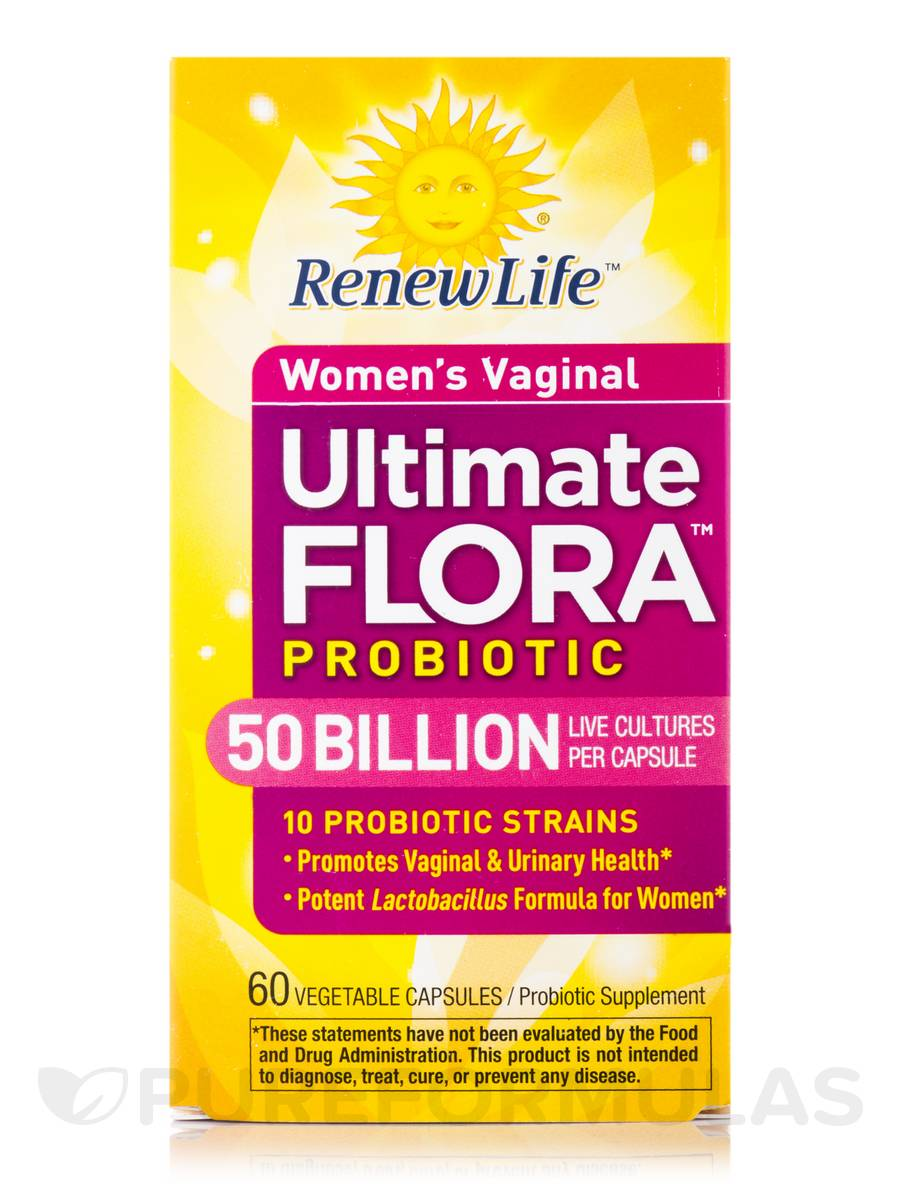Ultimate Flora Women S Vaginal Probiotic 50 Billion 60