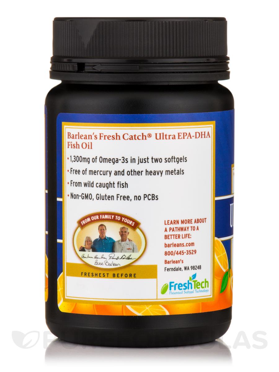 Fresh catch fish oil ultra epa dha orange flavor 60 for Fish oil for add
