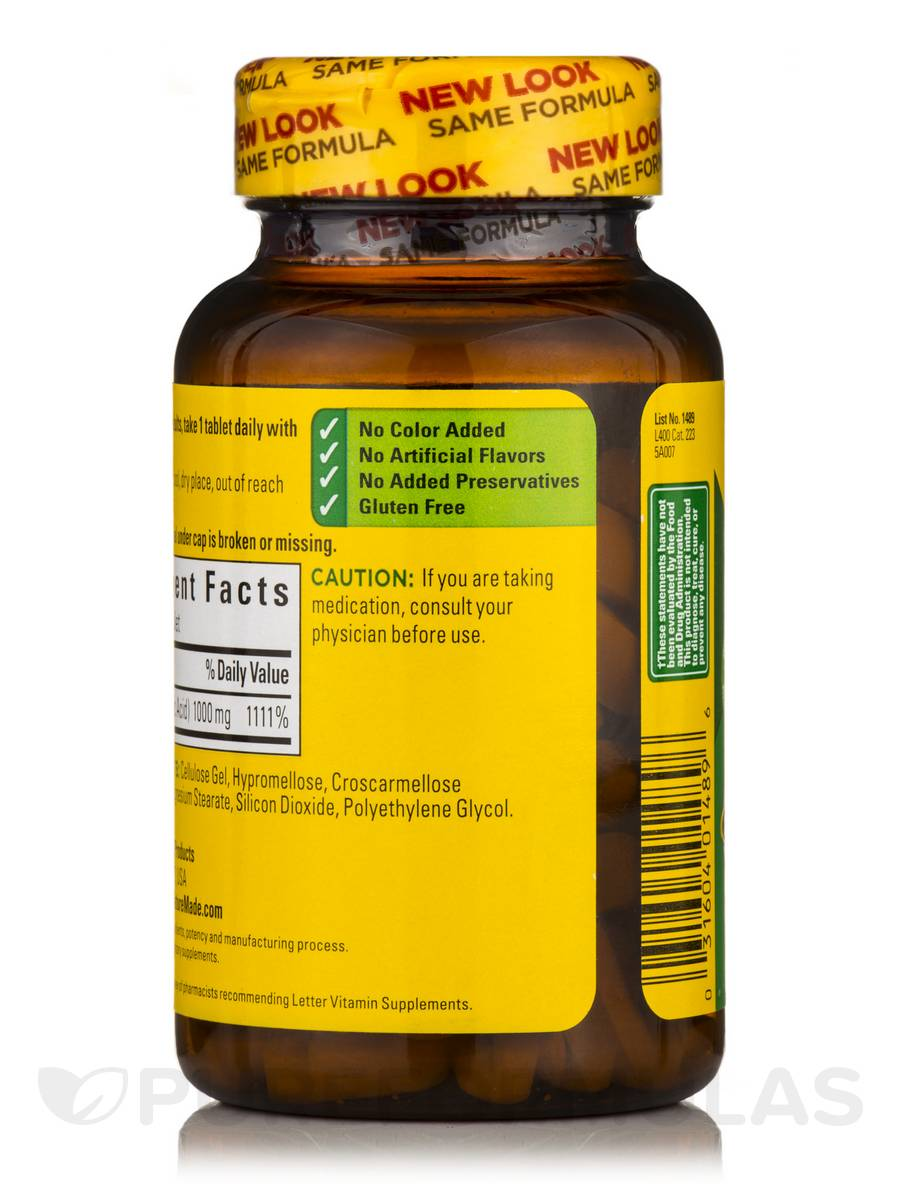 Vitamin C Nature Made Review
