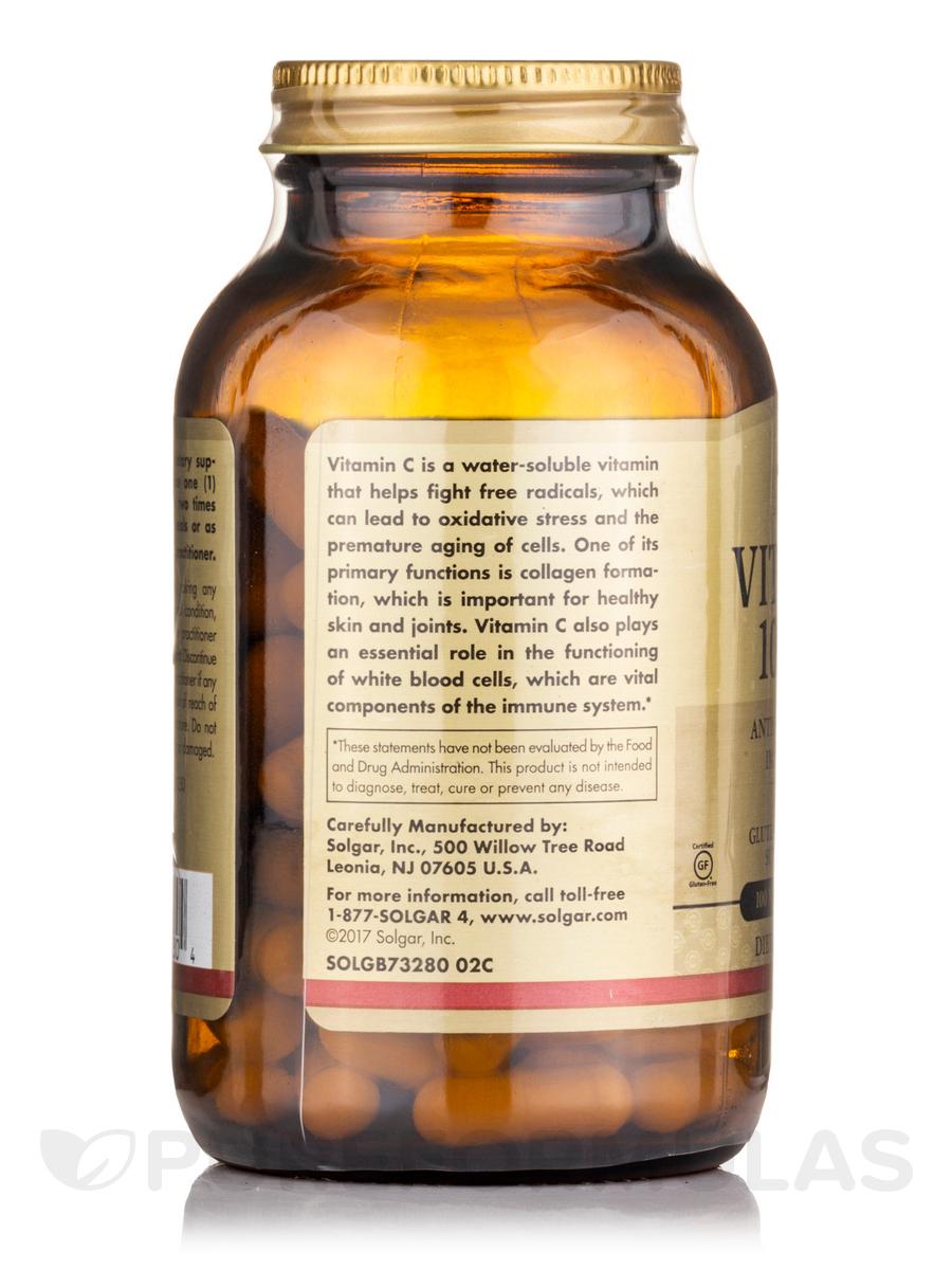 vitamin and mg Ingredient, recommended amount vitamin a (as beta carotene, retinyl palmitate ), 10,000 iu vitamin c (as ascorbic acid, mineral ascorbates), 1,000 mg vitamin d (as cholecalciferol), 1,000 iu vitamin e (as d-alpha tocopheryl succinate, mixed tocopherols), 300 iu thiamine (as mononitrate), 50 mg riboflavin (as.
