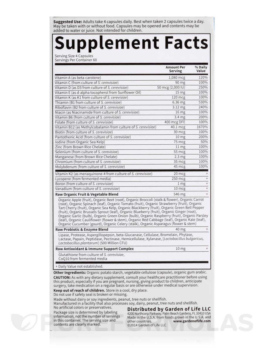 Code 50 Wiser Men 240 Vegetarian Capsules