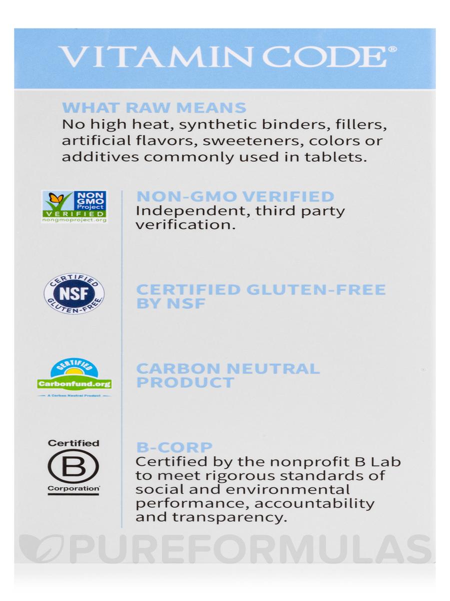 Vitamin Code®   50 U0026 Wiser Men   240 Vegetarian Capsules