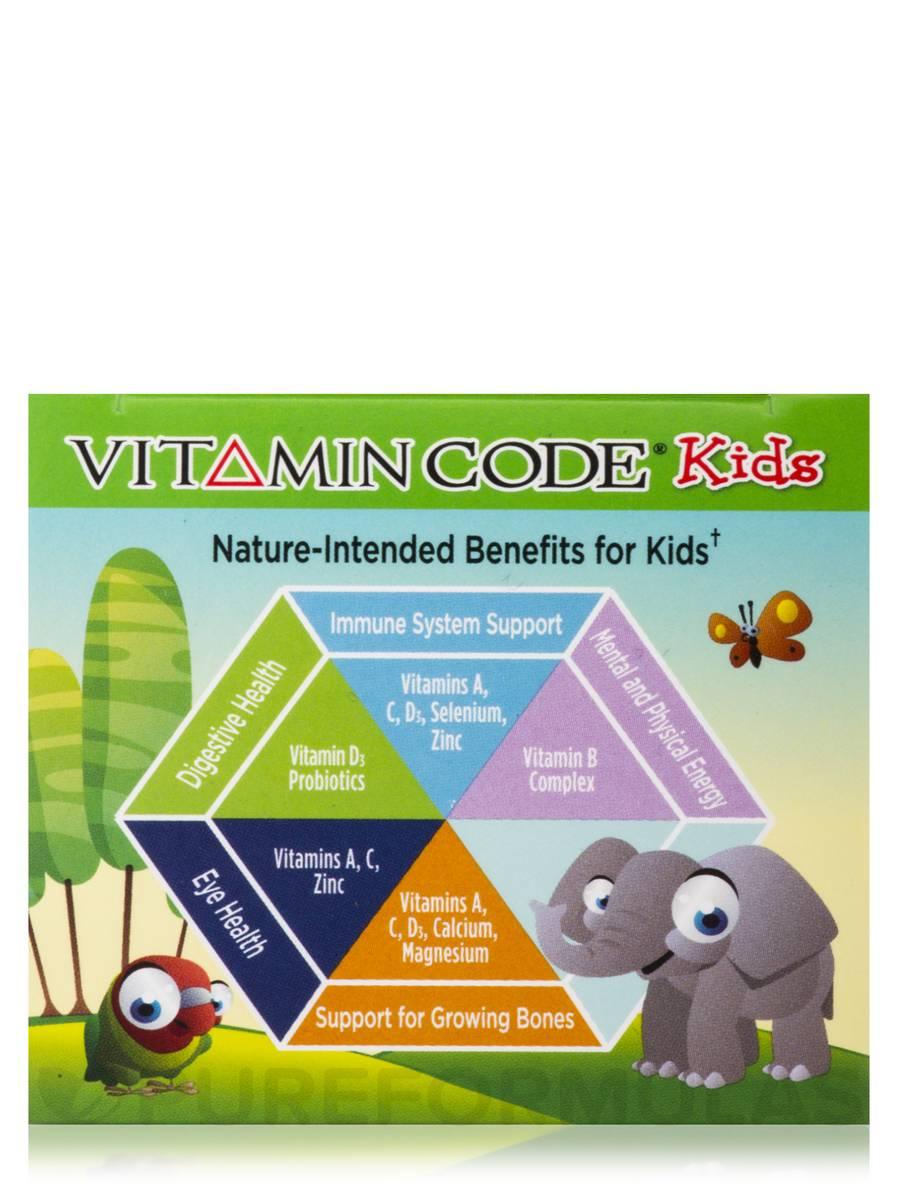 Code Kids 60 Chewable Bears