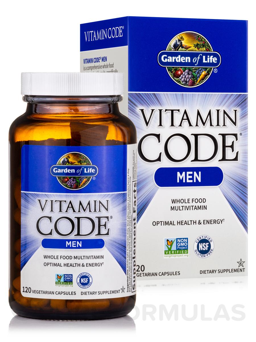 Code Mens Multi 120 Vegetarian Capsules