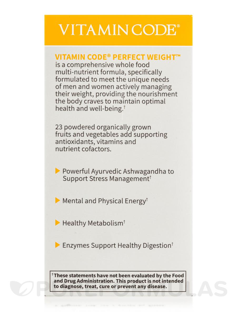Vitamin Code Perfect Weight Multi 120 Vegetarian Capsules