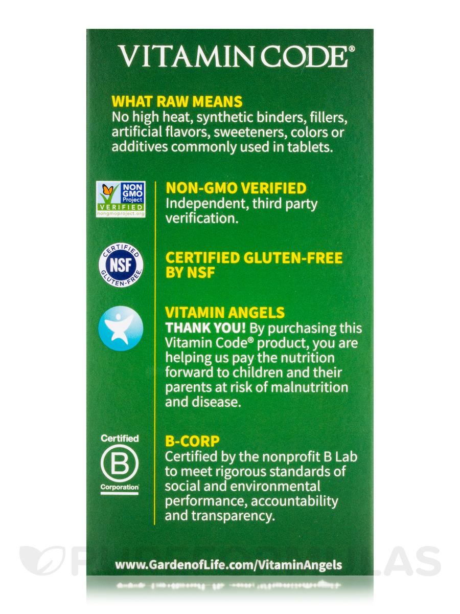 Code RAW Calcium 120 Vegetarian Capsules