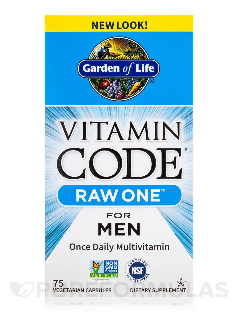 Vitamin Code®   RAW One™ For Men   75 Vegetarian Capsules