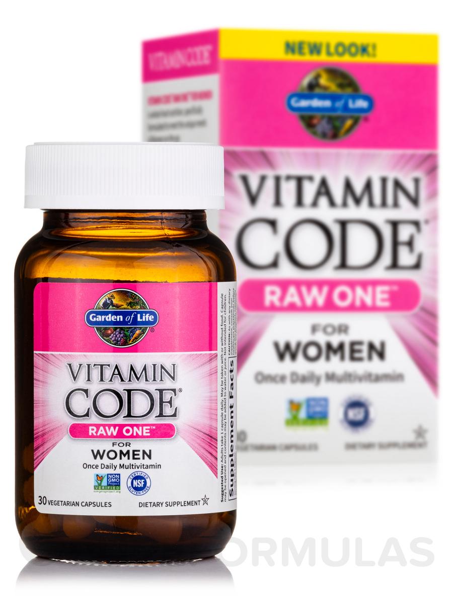 Vitamin Code Raw One For Women 30 Vegetarian Capsules