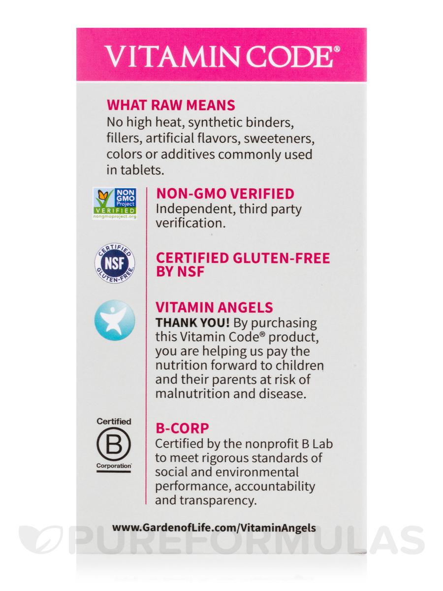 Vitamin code raw one for women 30 vegetarian capsules - Garden of life multivitamin review ...