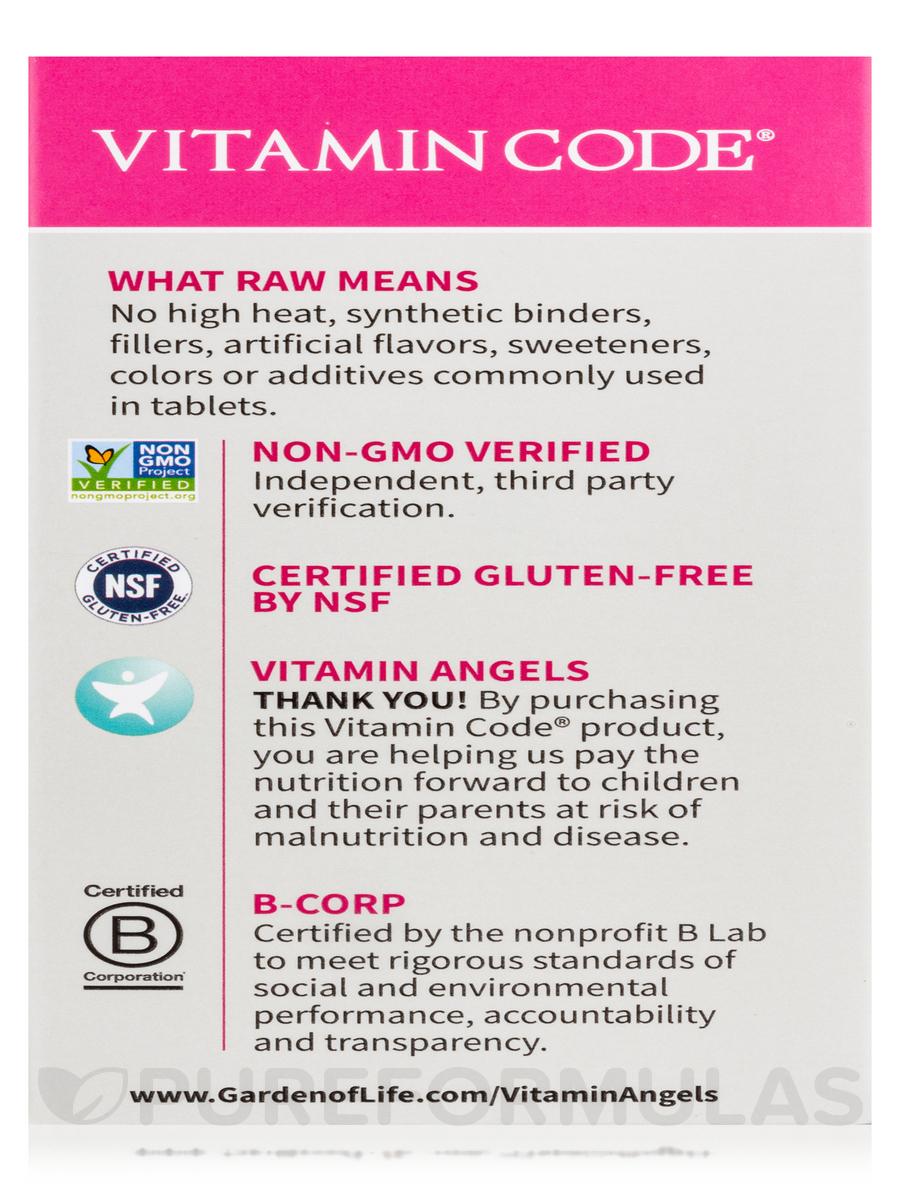 Vitamin Code Raw One For Women 75 Vegetarian Capsules