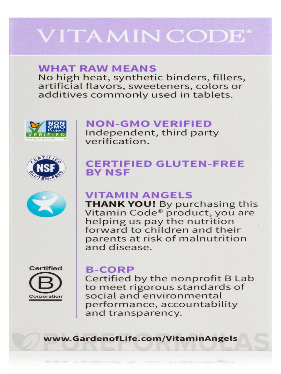 Vitamin Code Raw Prenatal 90 Vegetarian Capsules