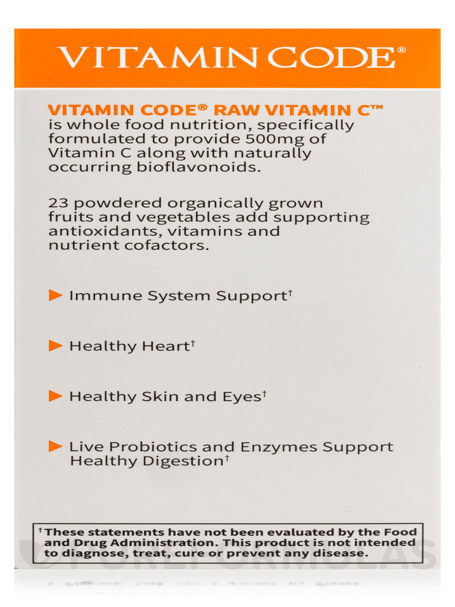 Code RAW Vitamin C 120 Vegan Capsules