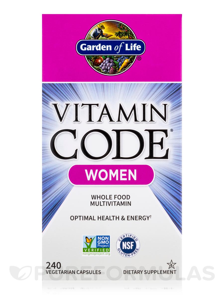 Vitamin Code Women 39 S Multi 240 Capsules