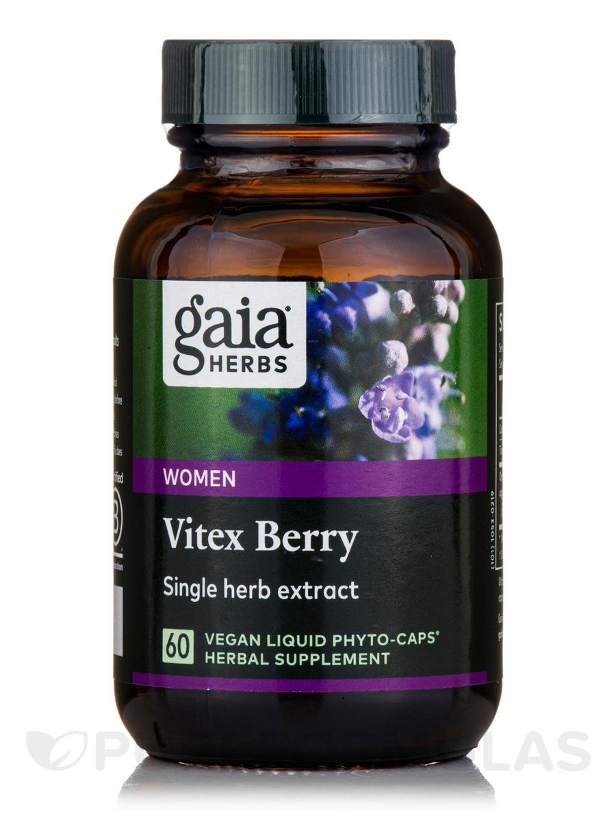 Vitex Berry - 60 Vegetarian Liquid Phyto-Caps®
