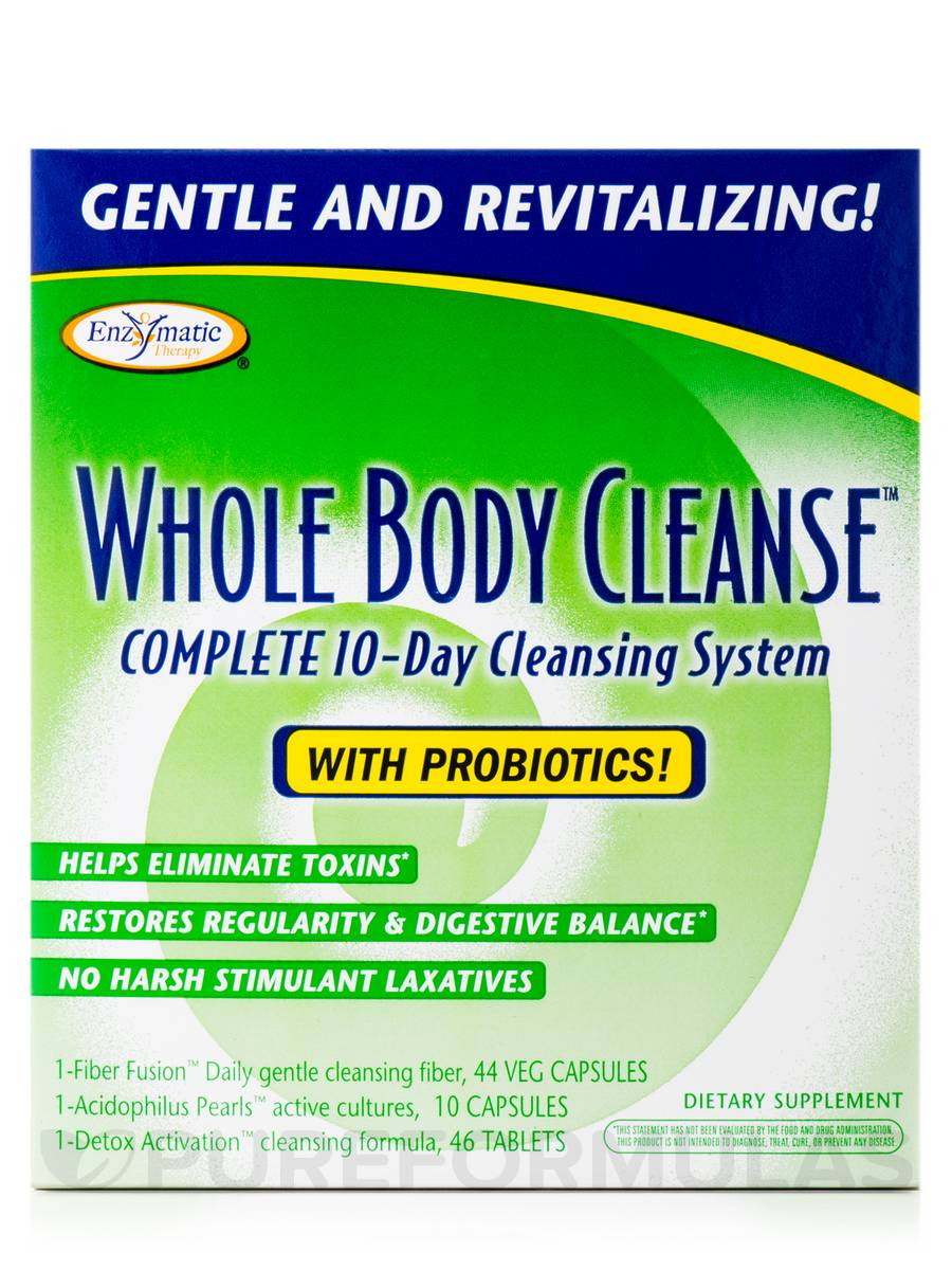 10 day whole body cleanse