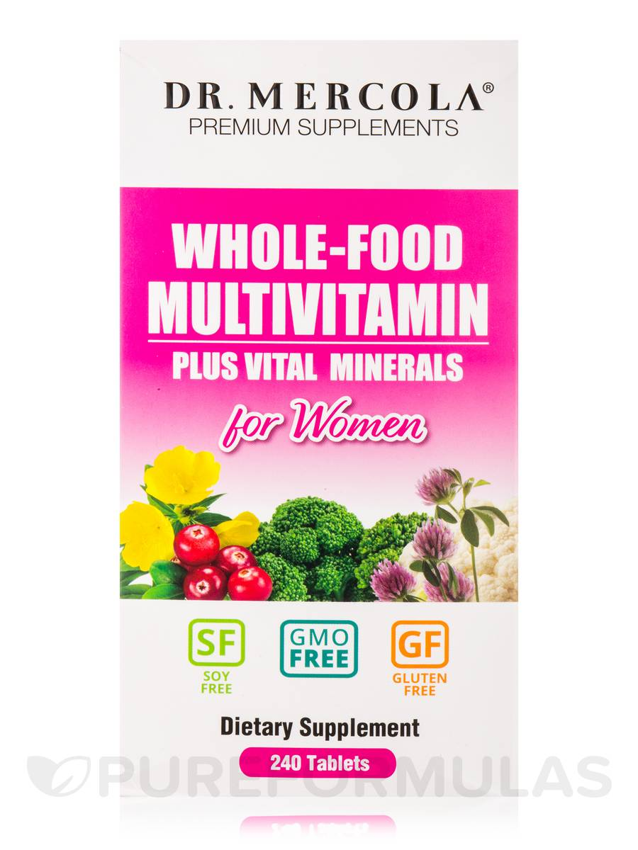 Dr Mercola Whole Food Multivitamin Plus Vital Minerals