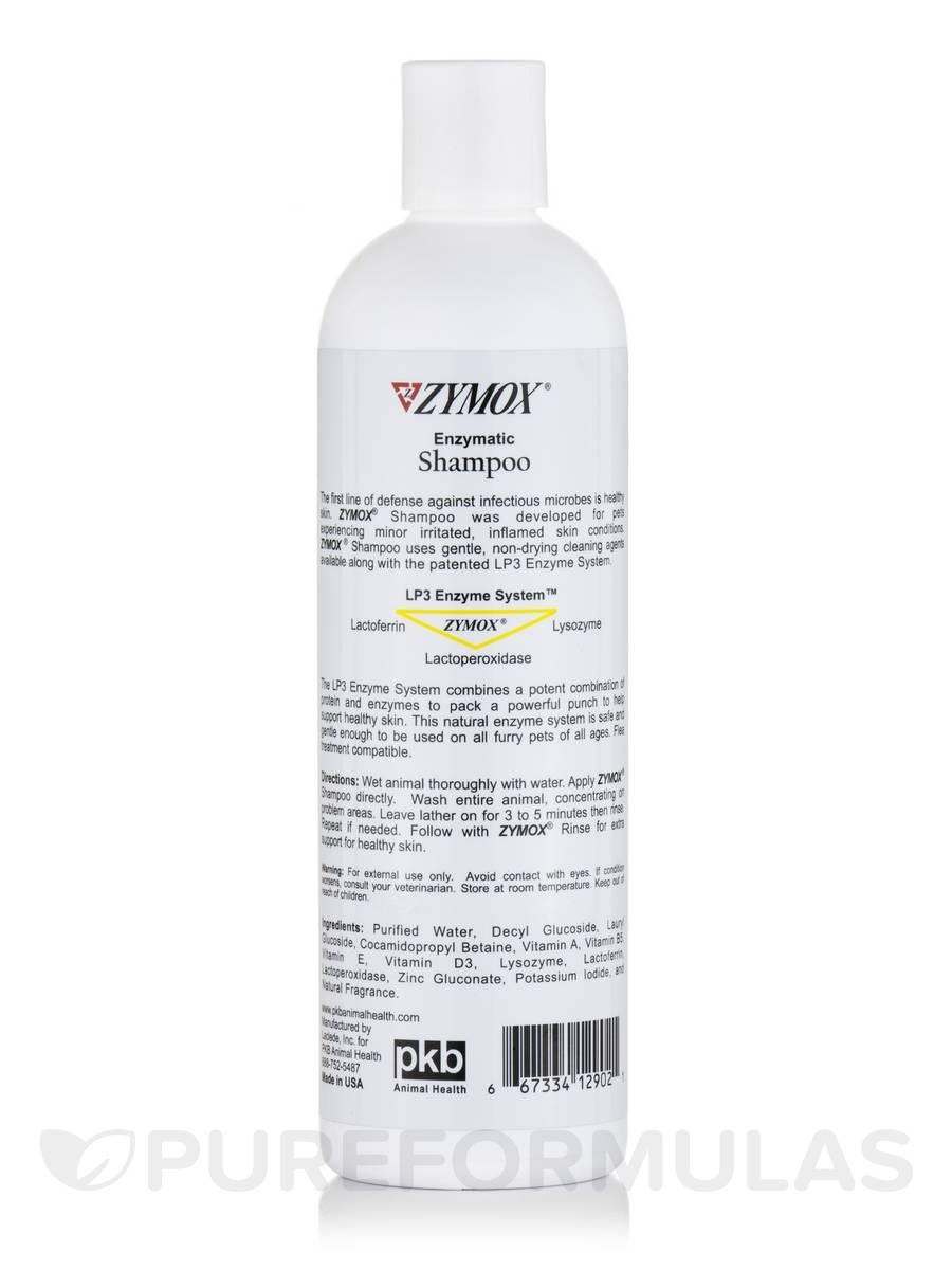 rinse shampoo zymox enzymatic and