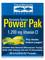 Electrolyte Stamina Power Pak with 1200 mg Vitamin C (Lemon Lime Flavor) - Box of 32 Packets (0.23 oz / 6.5 Grams each)