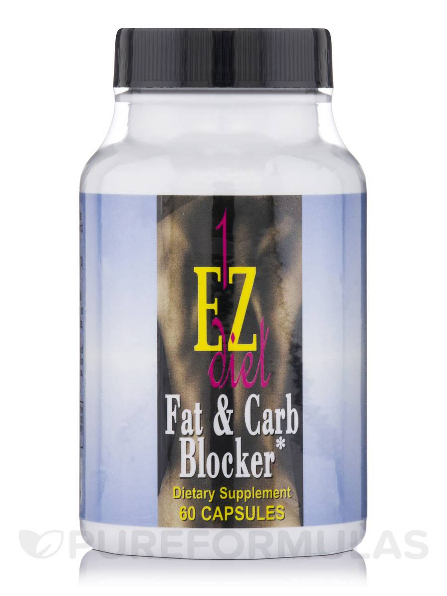 1-EZ Diet Fat & Carb Blocker - 60 Capsules
