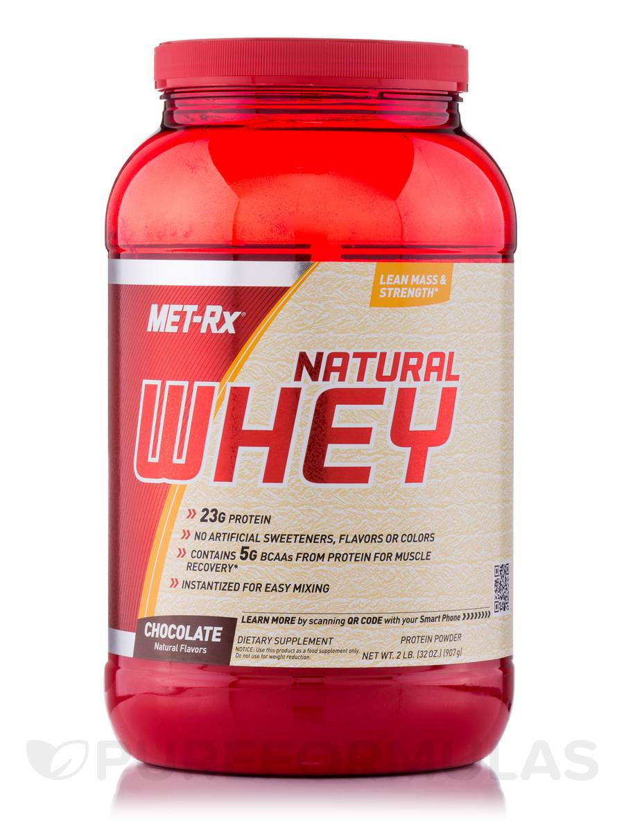 Natural Whey Chocolate - 32 oz (907 Grams)